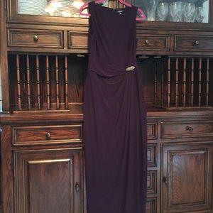 🏝NWOT Chaps maxi dress
